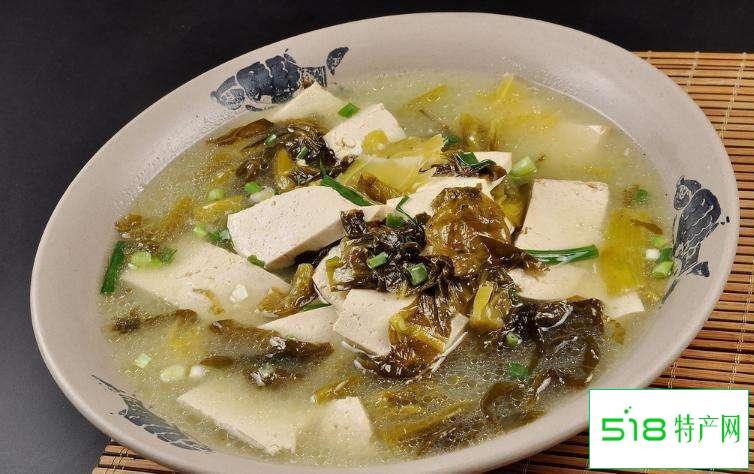 酸菜煮水豆腐