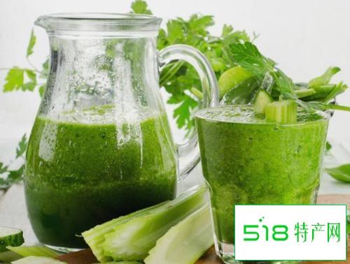 生榨芹菜汁