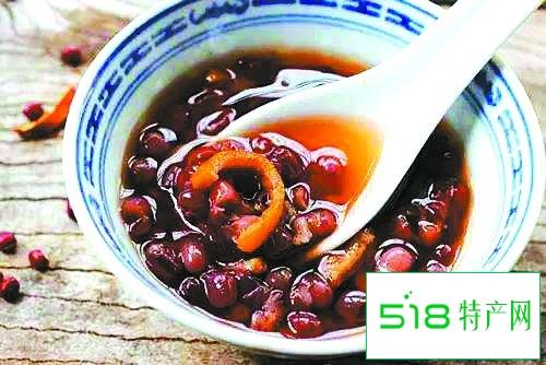 瘦身美容食谱:红豆陈皮汤