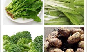 这4种蔬菜的含铁量超肉类