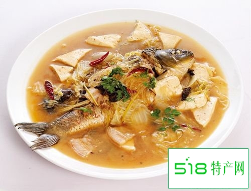 适合孩子长高的菜肴——豆腐炖鱼