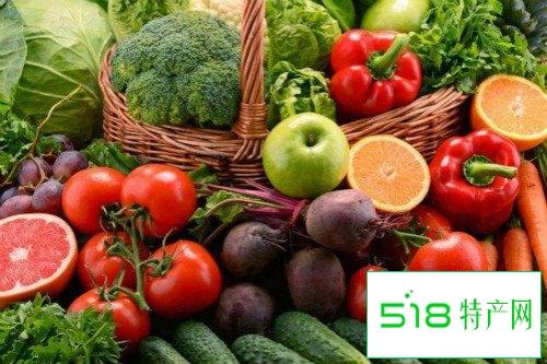 蔬菜与水果有哪些营养特点