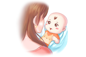 婴儿肚子扁扁的正常吗
