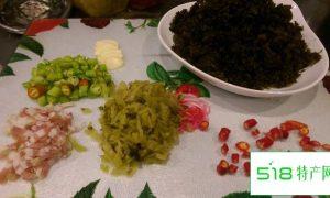 在家如何制作一份好吃的地皮菜,方法真是简单的不要不要