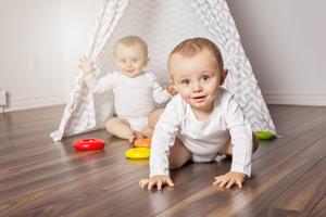 五个月宝宝的智商表现