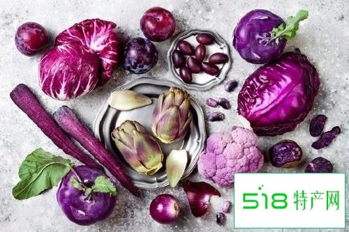 紫色食物富含花青素养眼又护心