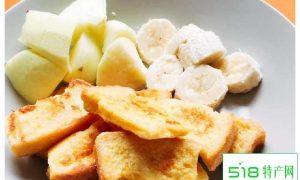 蜂蜜水果法式吐司,小资情调,逼格满满的快手早餐!